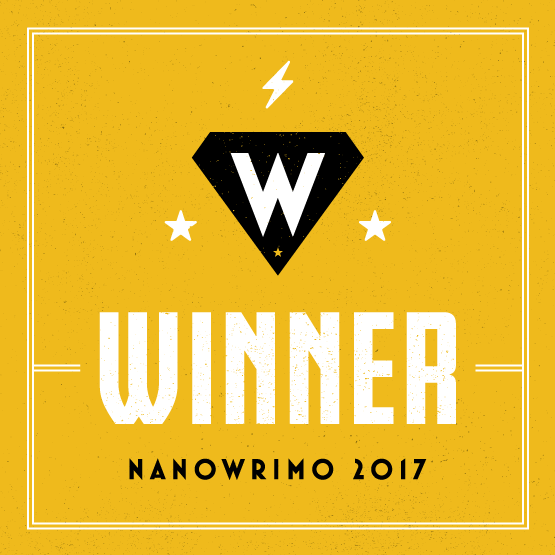 NaNoWriMo badge