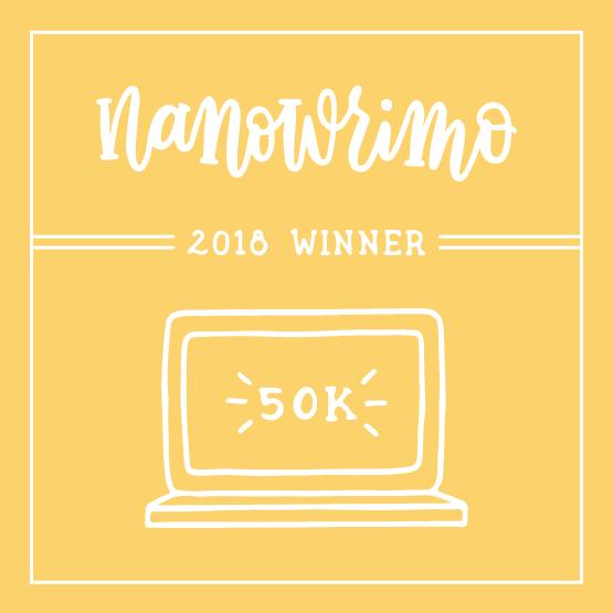 NaNoWriMo 2018 winner's badge
